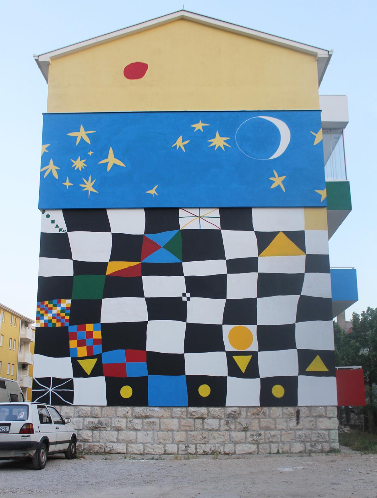 Jorge Pomar Street Art Mostar Bosnia-Herzegovina