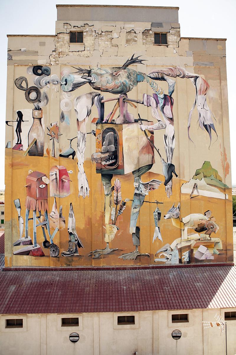 Laguna Street Art Almagro Francisco Nieva
