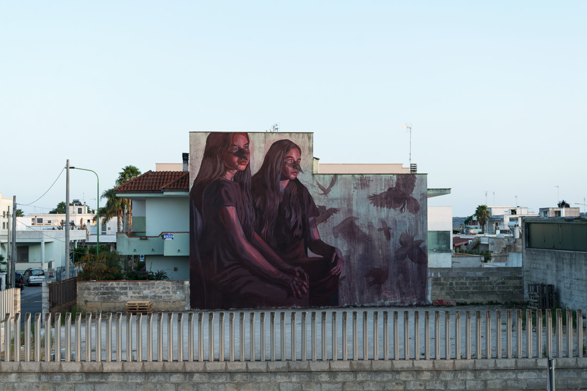 Milu Correch Street Art Viavai Project
