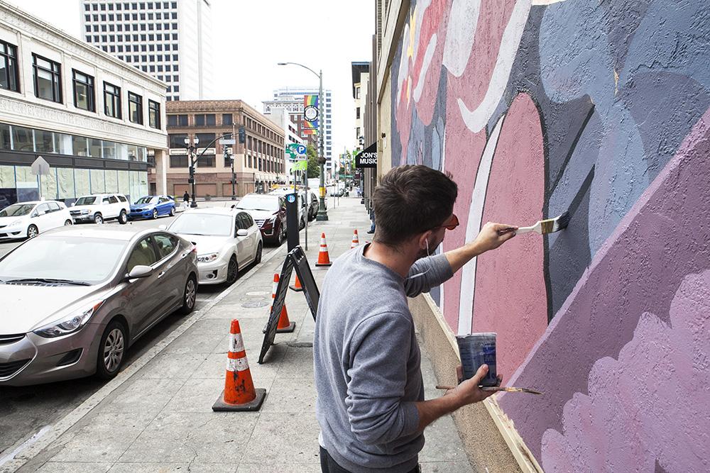 Pastel Street Art Oakland