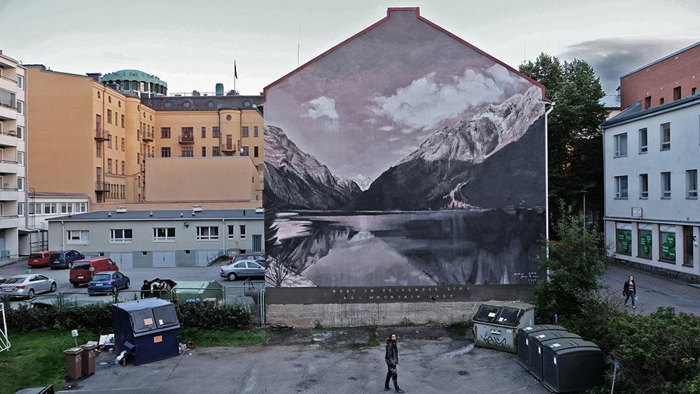 Ricky Lee Gordon Street Art Vaasa Finland Upeart Festival