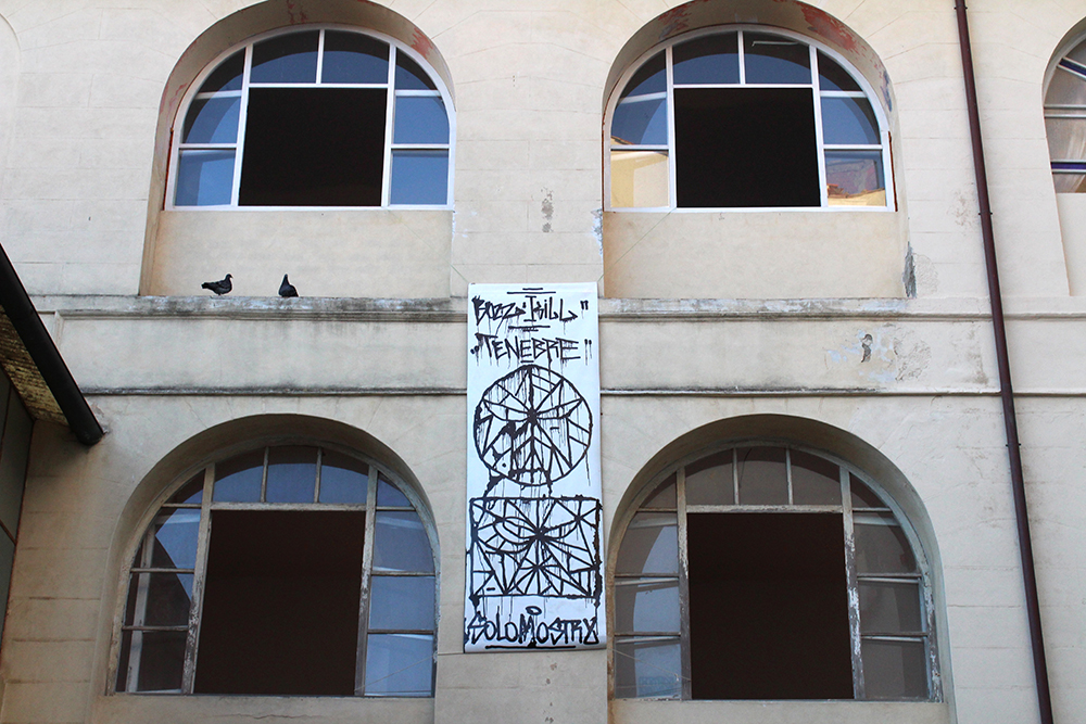 Solomostry Street Art TENEBRE Buzz Kill Gallery