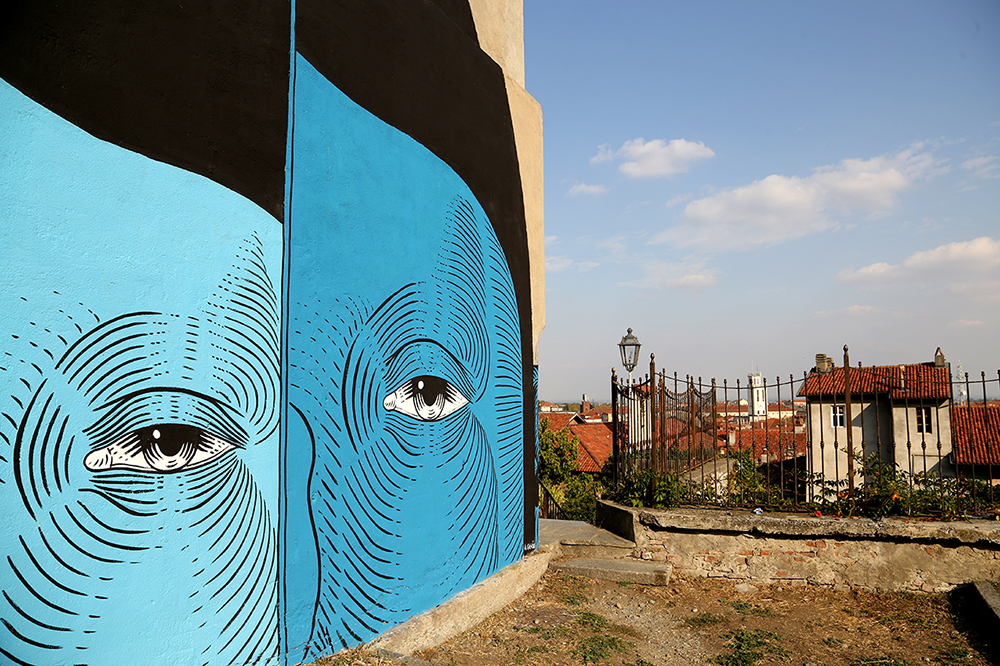 Andrea Casciu Street Art Street Alps Pinerolo