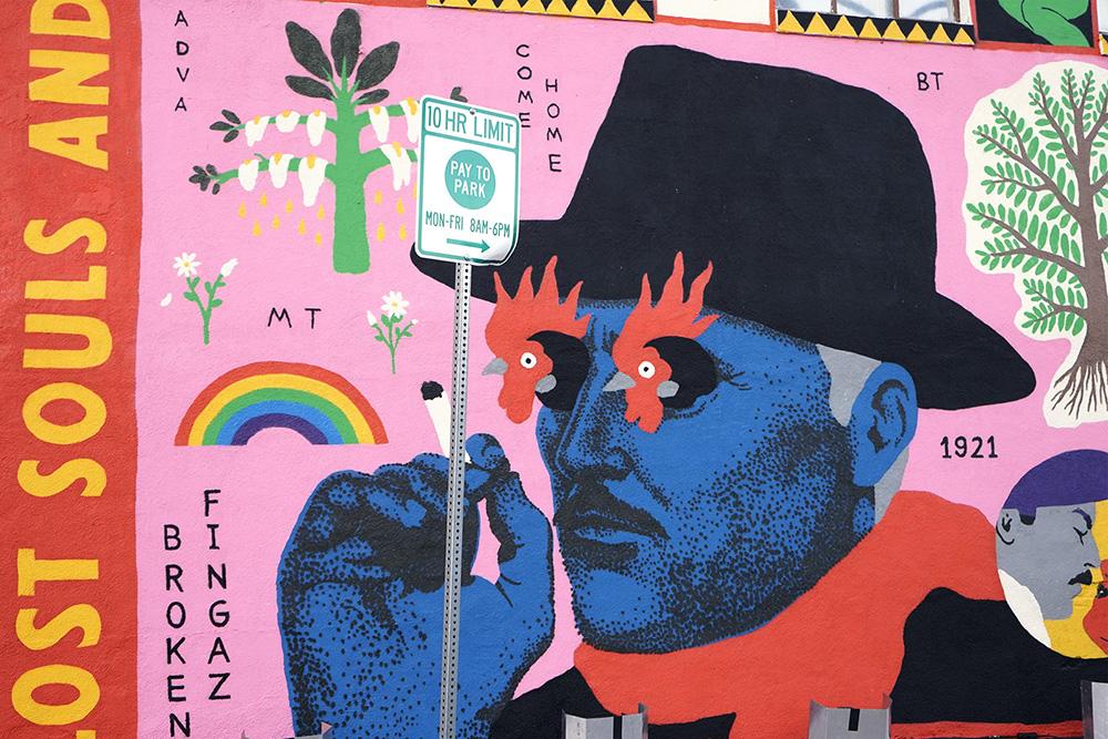 Broken Fingaz Street Art Las Vegas