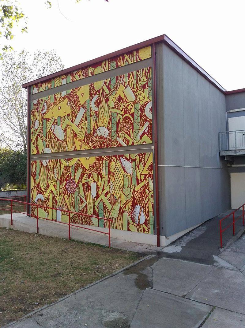 Crista Street Art Assemini Sardinia