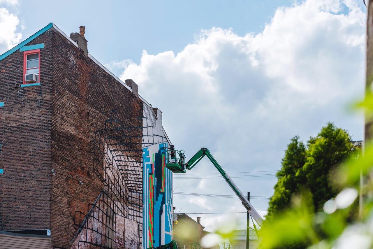 Demsky Street Art BLINK Cinncinati JustKids