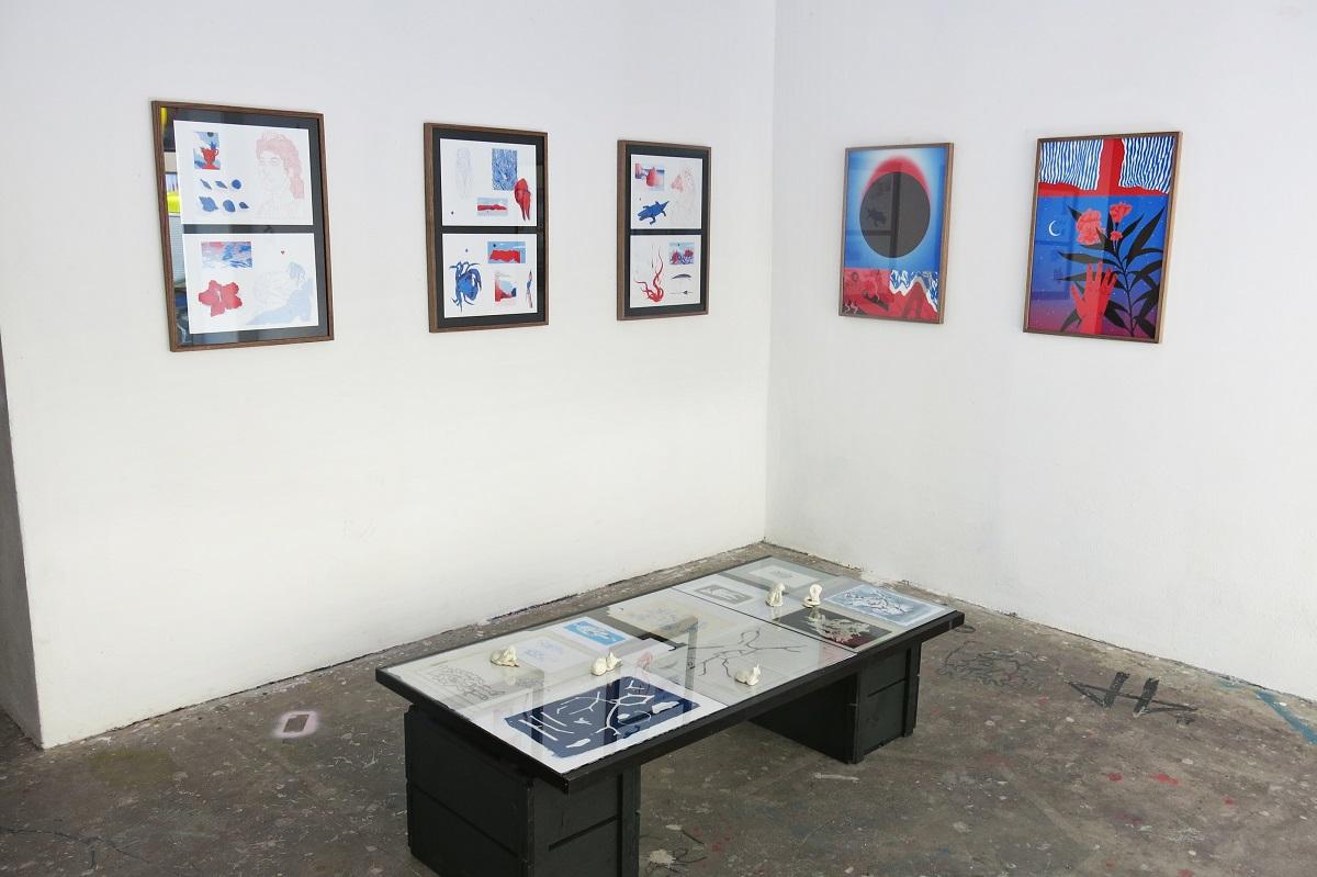 Dilen Tigreblu Cripsta Ritual Improper Walls Gallery Vienna