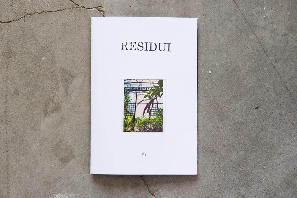 Livio Ninni Residui Fanzine