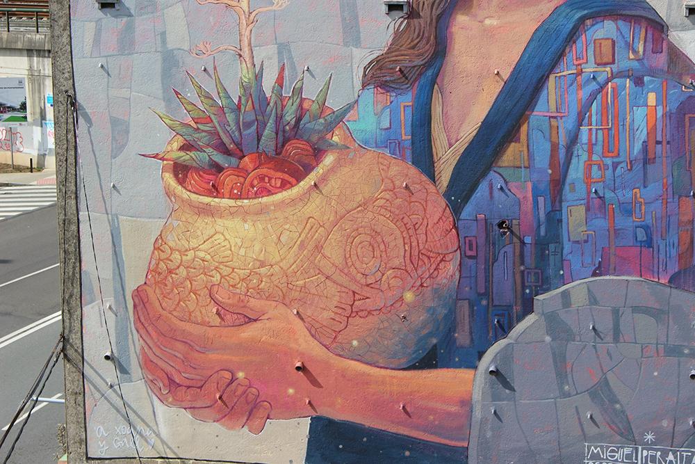 Miguel Peralta Street Art Compostela CONTEMPORÁNEA Santiago de Compostela