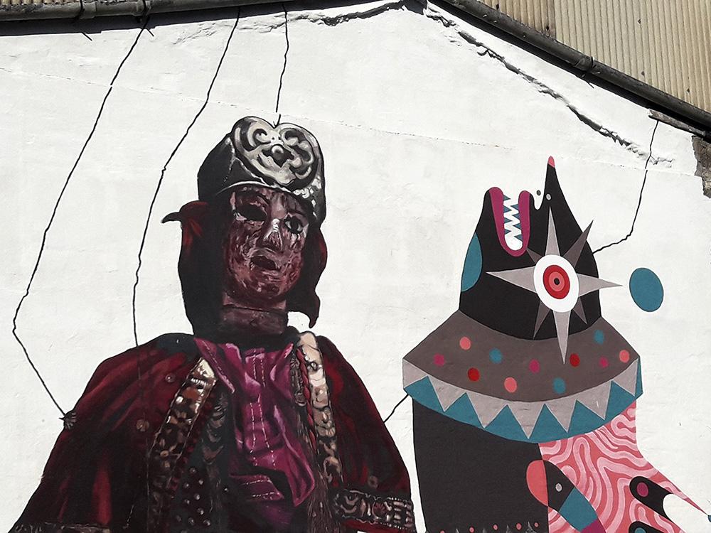 Gio Pistone Nicola Alessandrini Street Art Lentini Siracusa