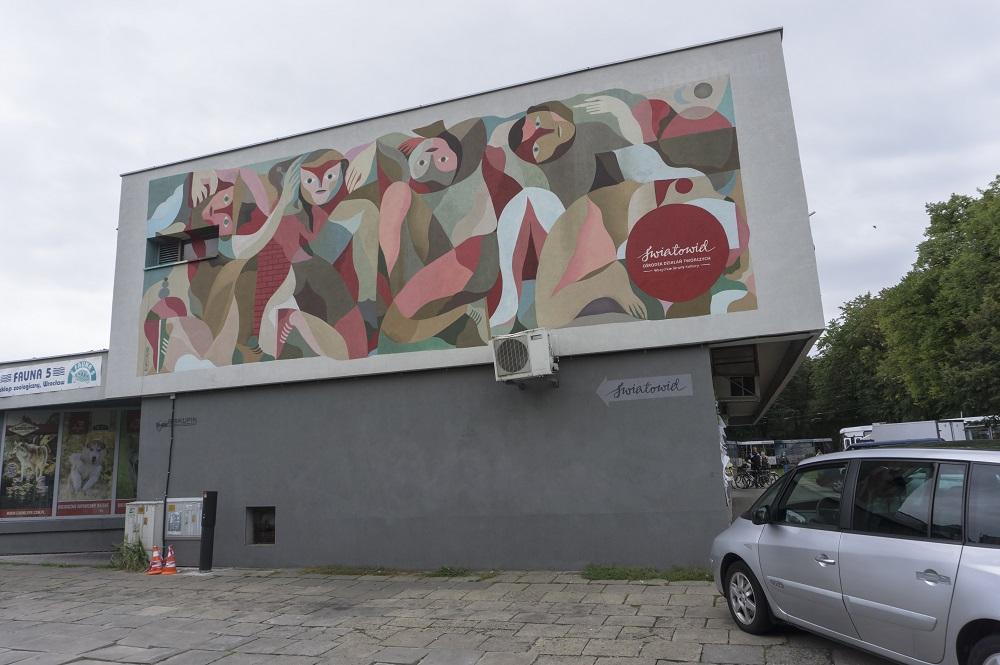 Otecki Street Art Biskupin Wrocław Światowid