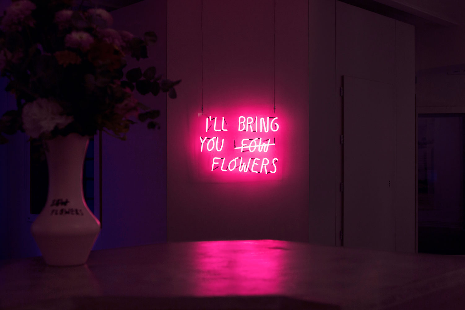 I'll Bring You Flowers Peter Phobia The Art Union