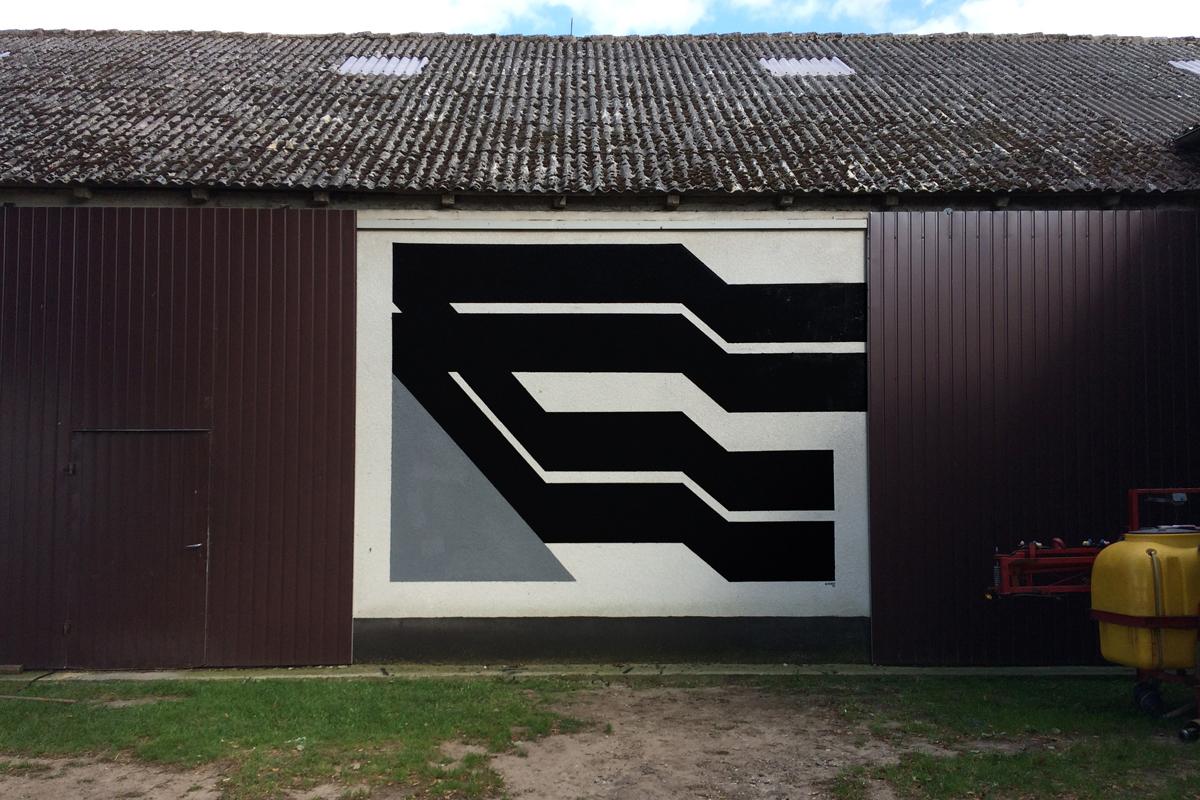 Simek Street Art Węsiory Poland