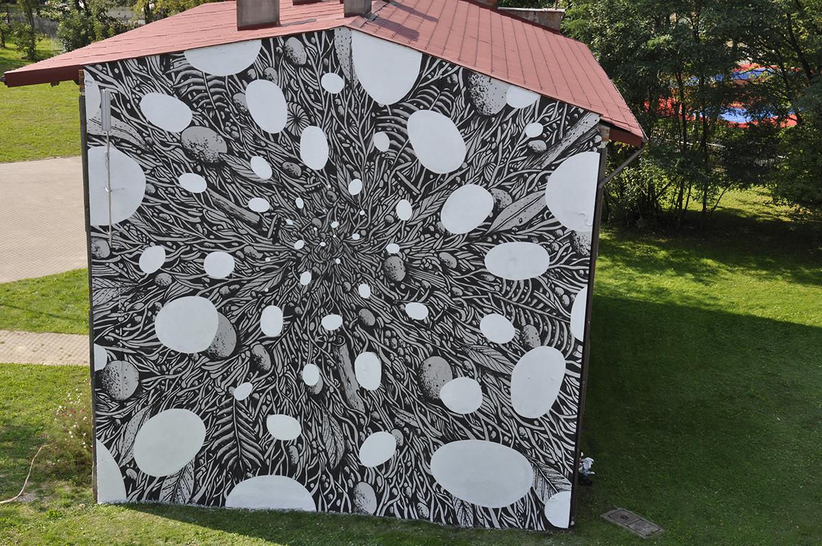 Tellas Street Art Lodz Galeria Urban Forms