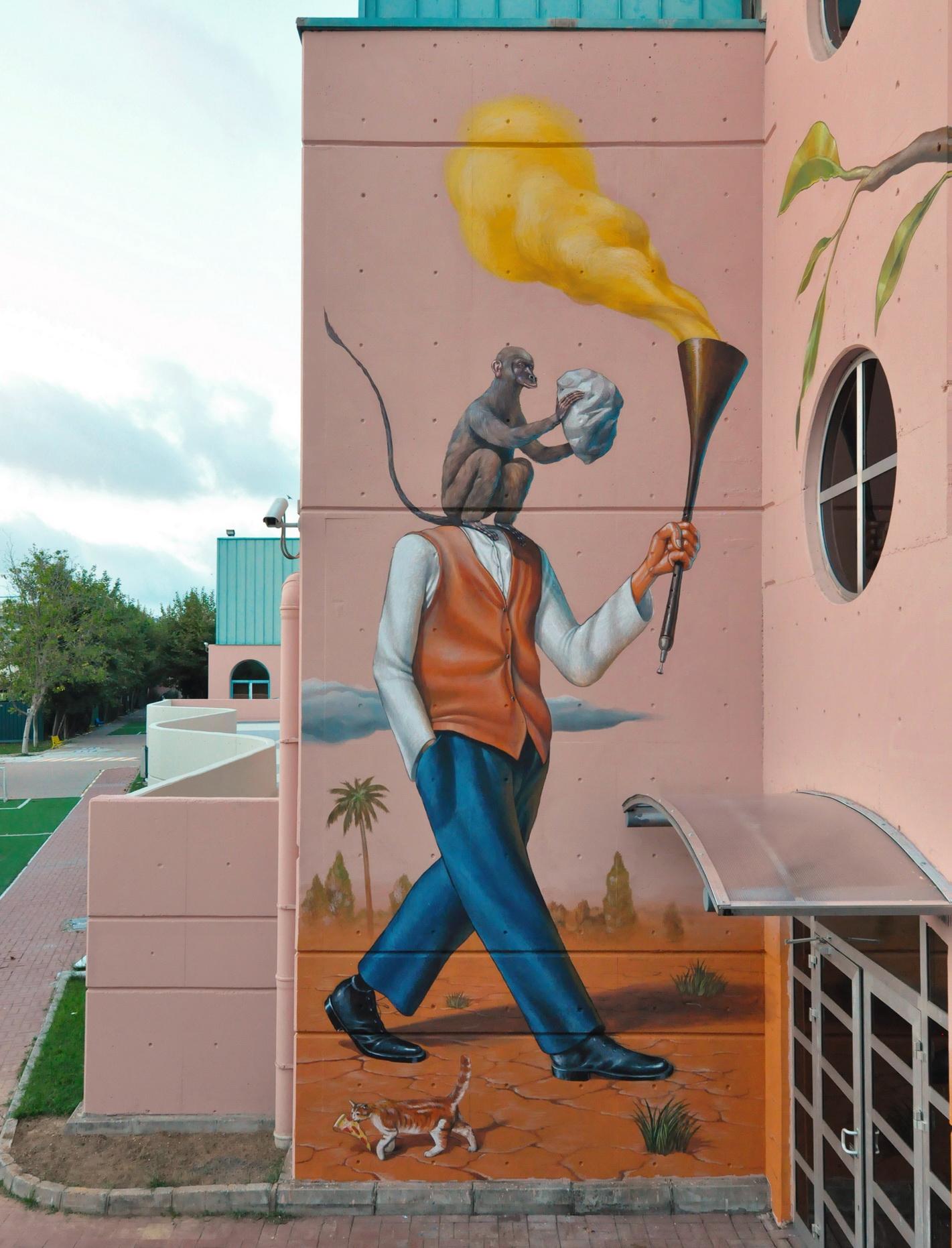 AEC Interesni Kazki Street Art Istanbul
