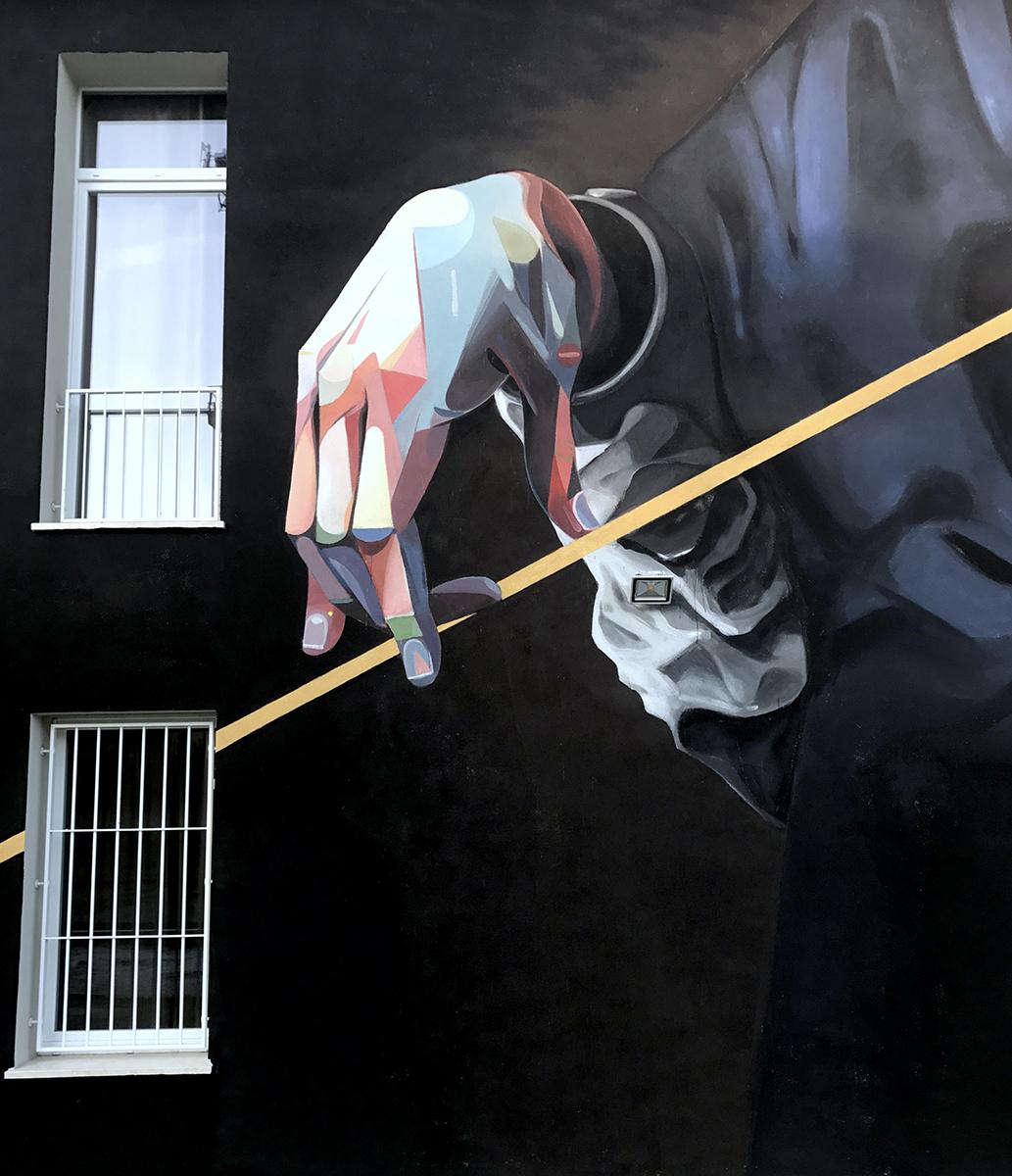 Basik Street Art Novi di Modena TOTART Festival
