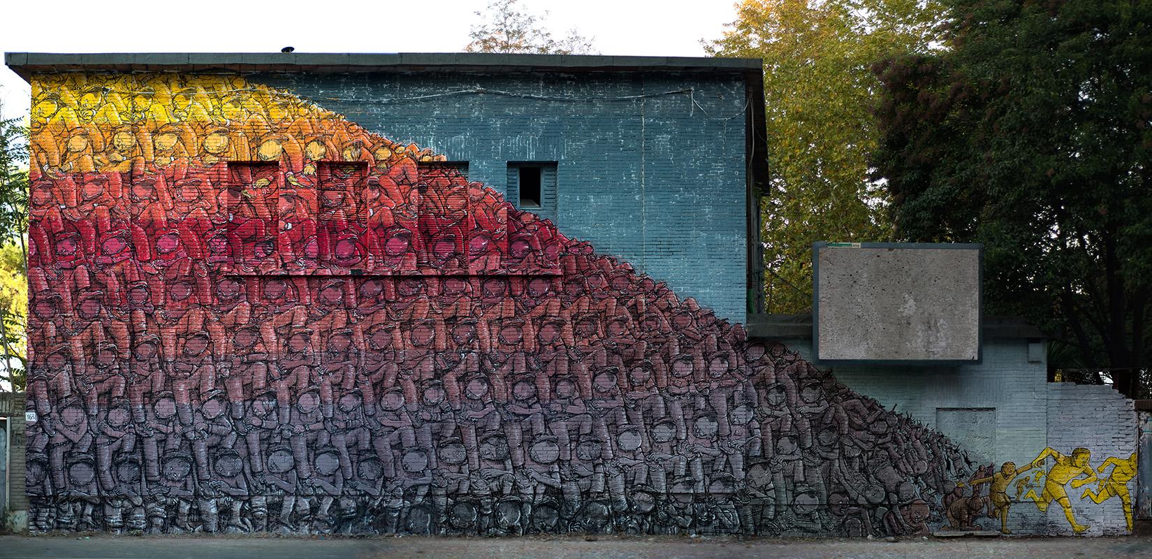 BLU Street Art Ex Snia Roma