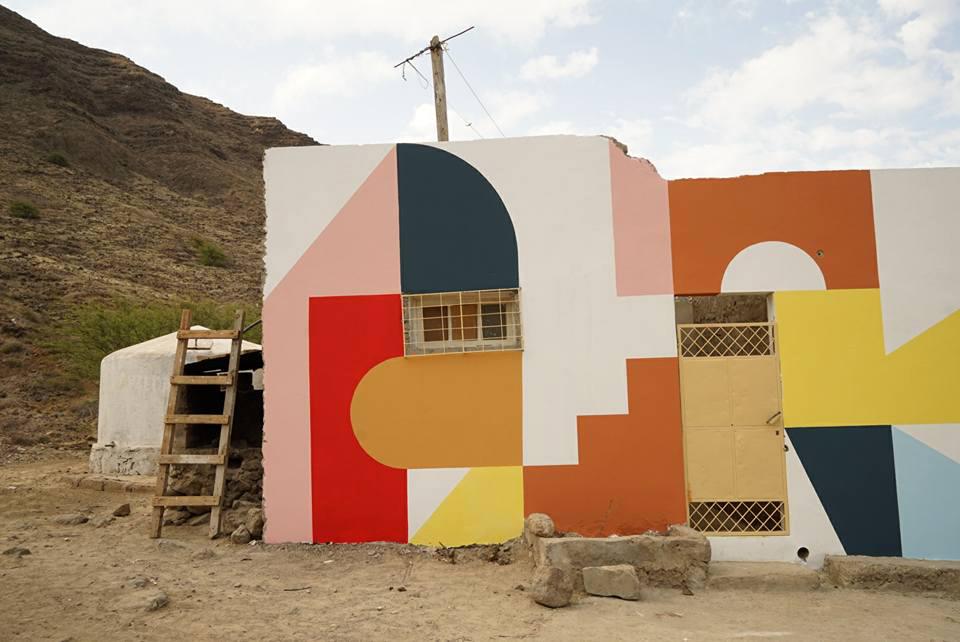 Eltono street art São Vicente, Cape Verde