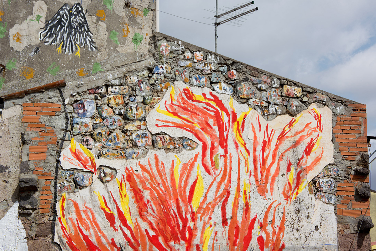 Emajons Sbrama Street Art Macomer Sardegna Festival della Resilienza