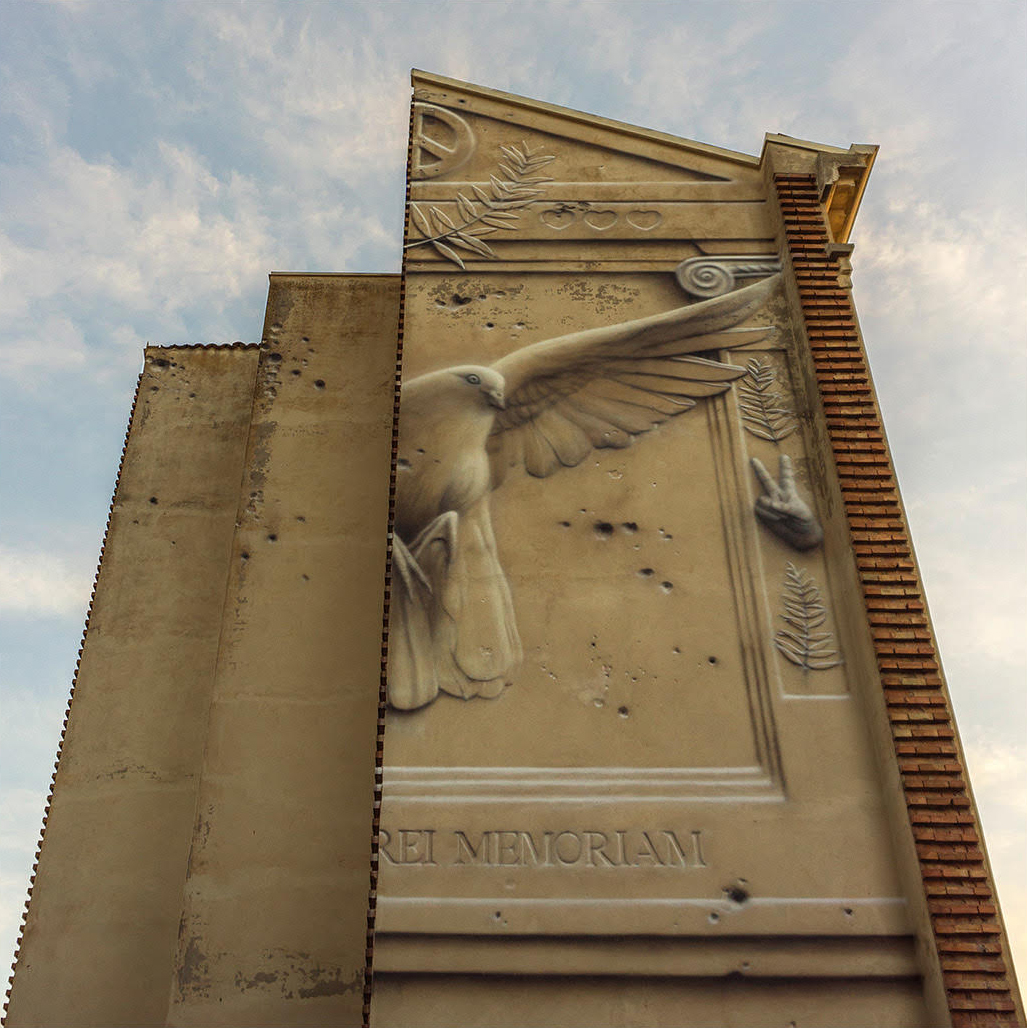 Eron Street Art Mutina Palazzo Santa Chiara Modena