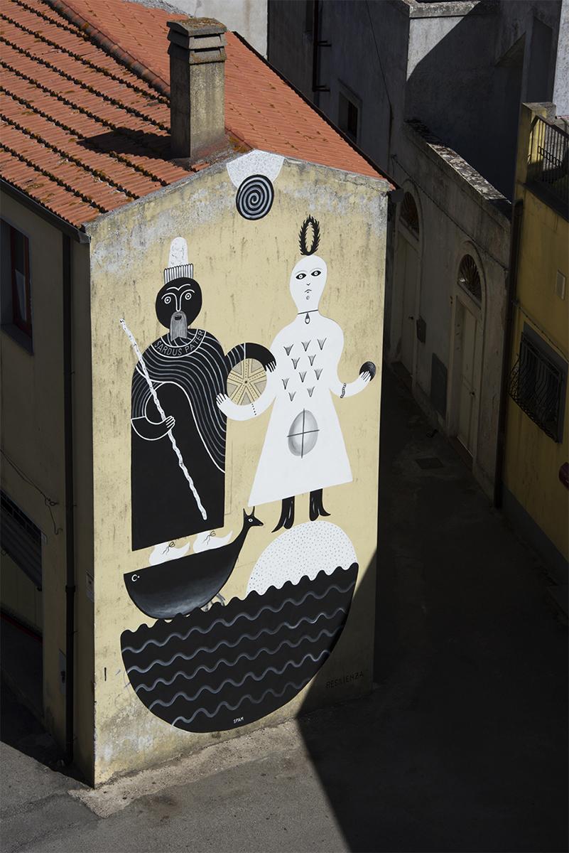 Guerrilla Spam Street Art Macomer Festival della Resilienza