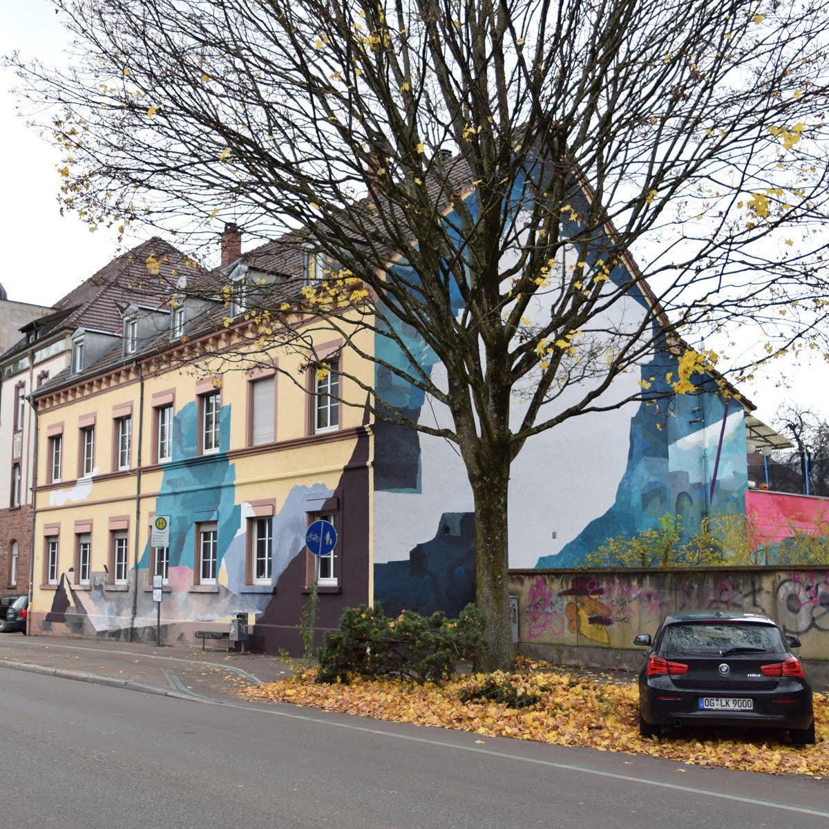 Johannes Mundinger Elias Errerd Street Art Mural Offenburg