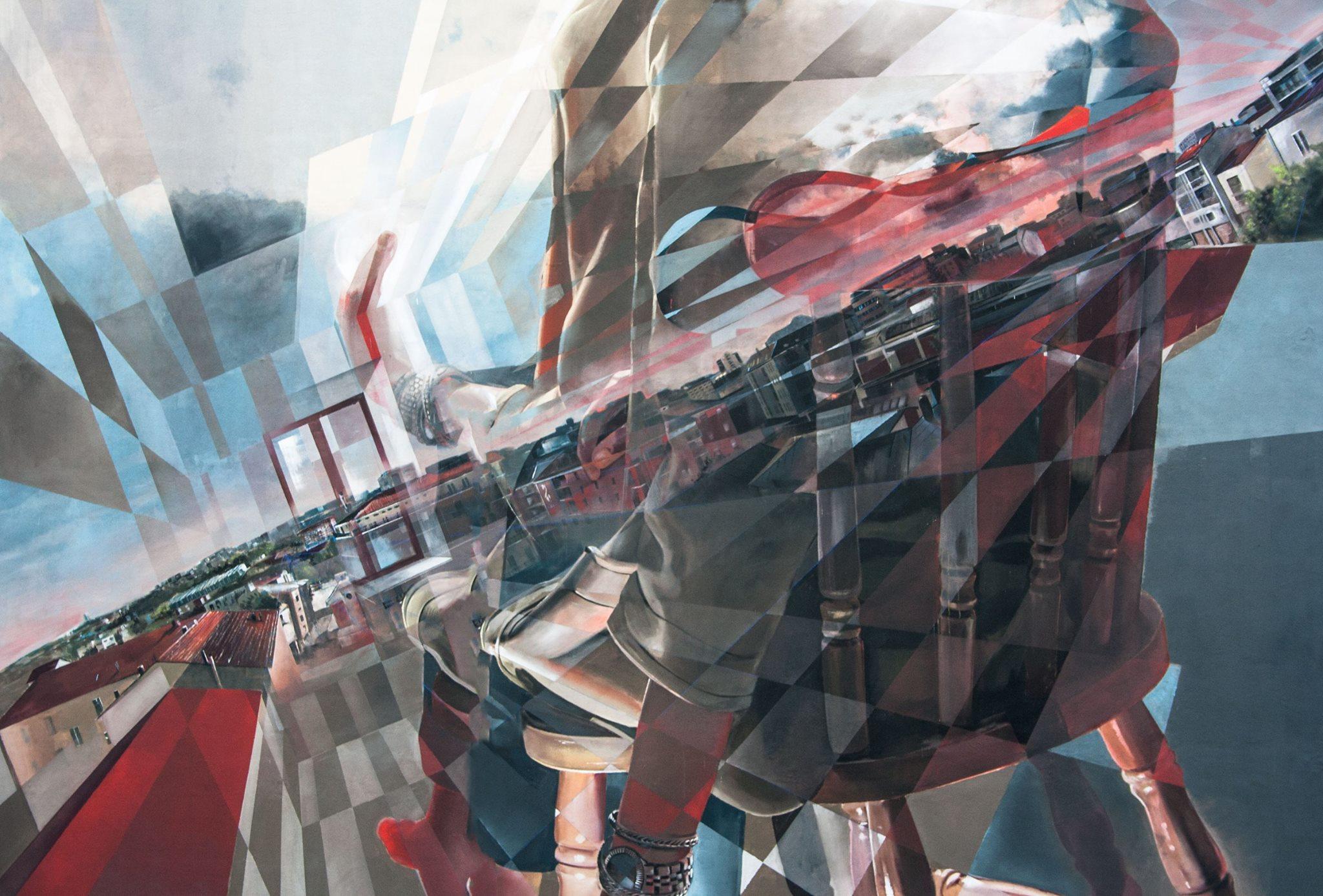 Vesod Street Art Draw The Line Festival Campobasso