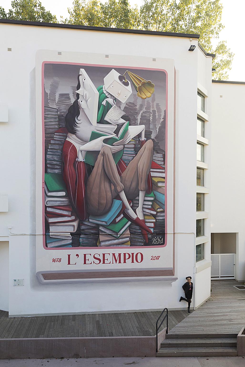 Zed1 Street Art Mestre