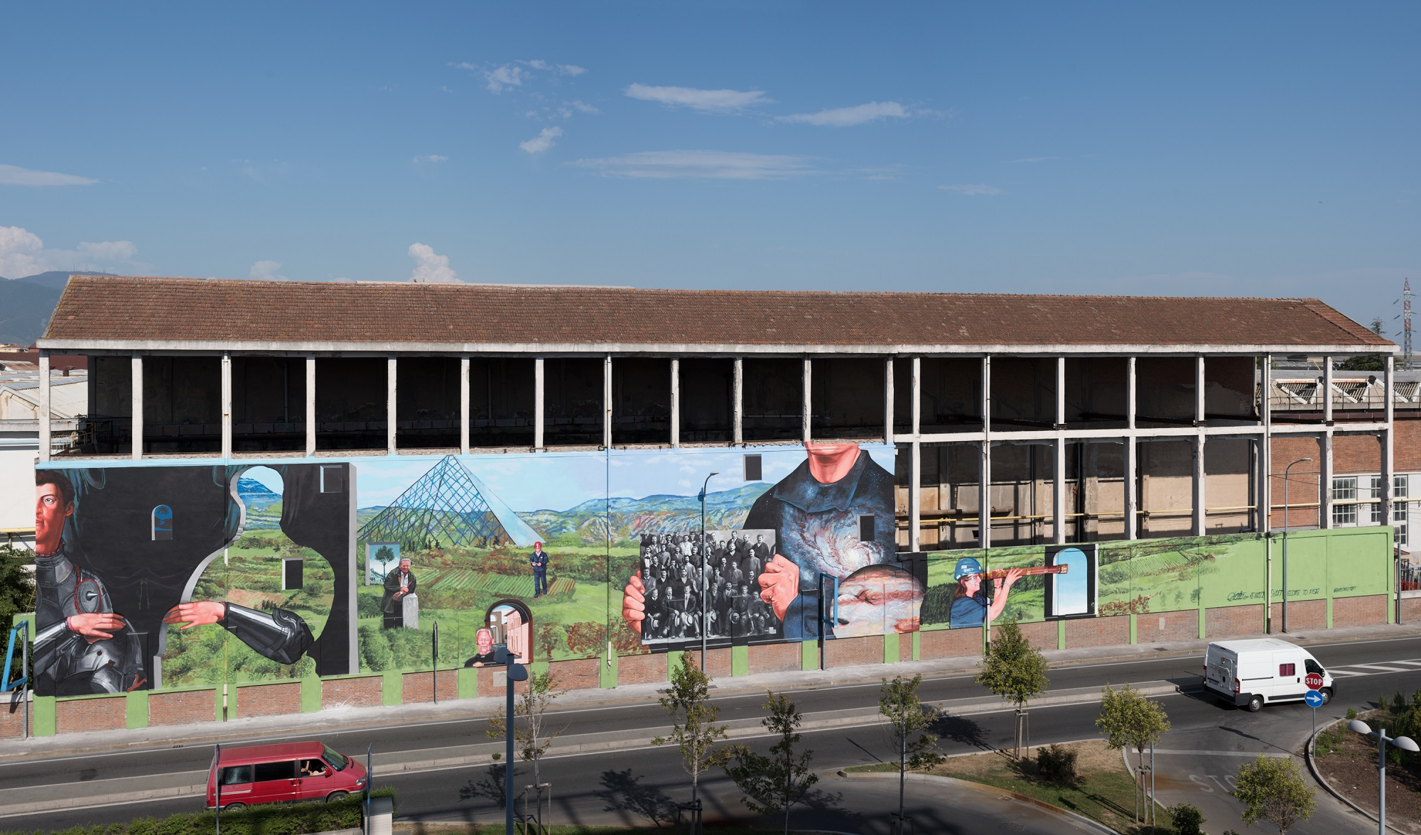 Gaia Street Art Pisa