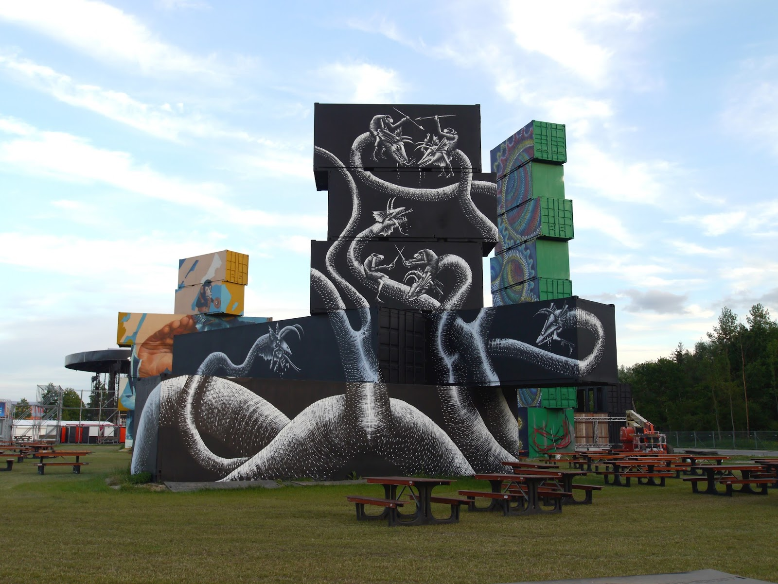 Phlegm Street Art Werchter North West Walls