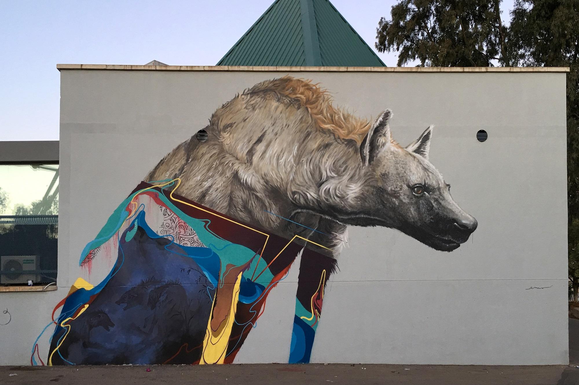 Kraser Street Art Llano del Beal