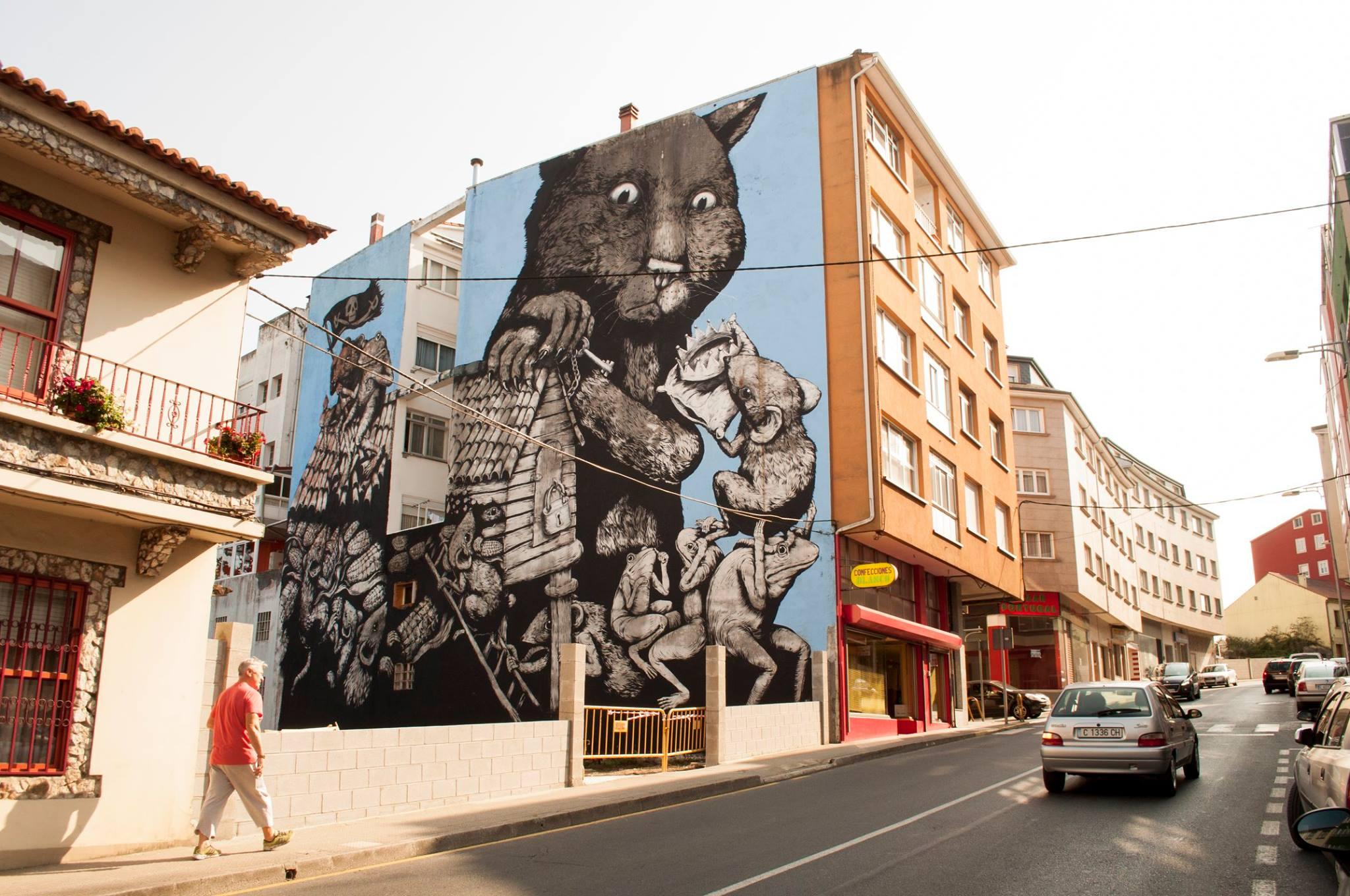 Ericailcane Street Art Ordes DesOrdes Creativas
