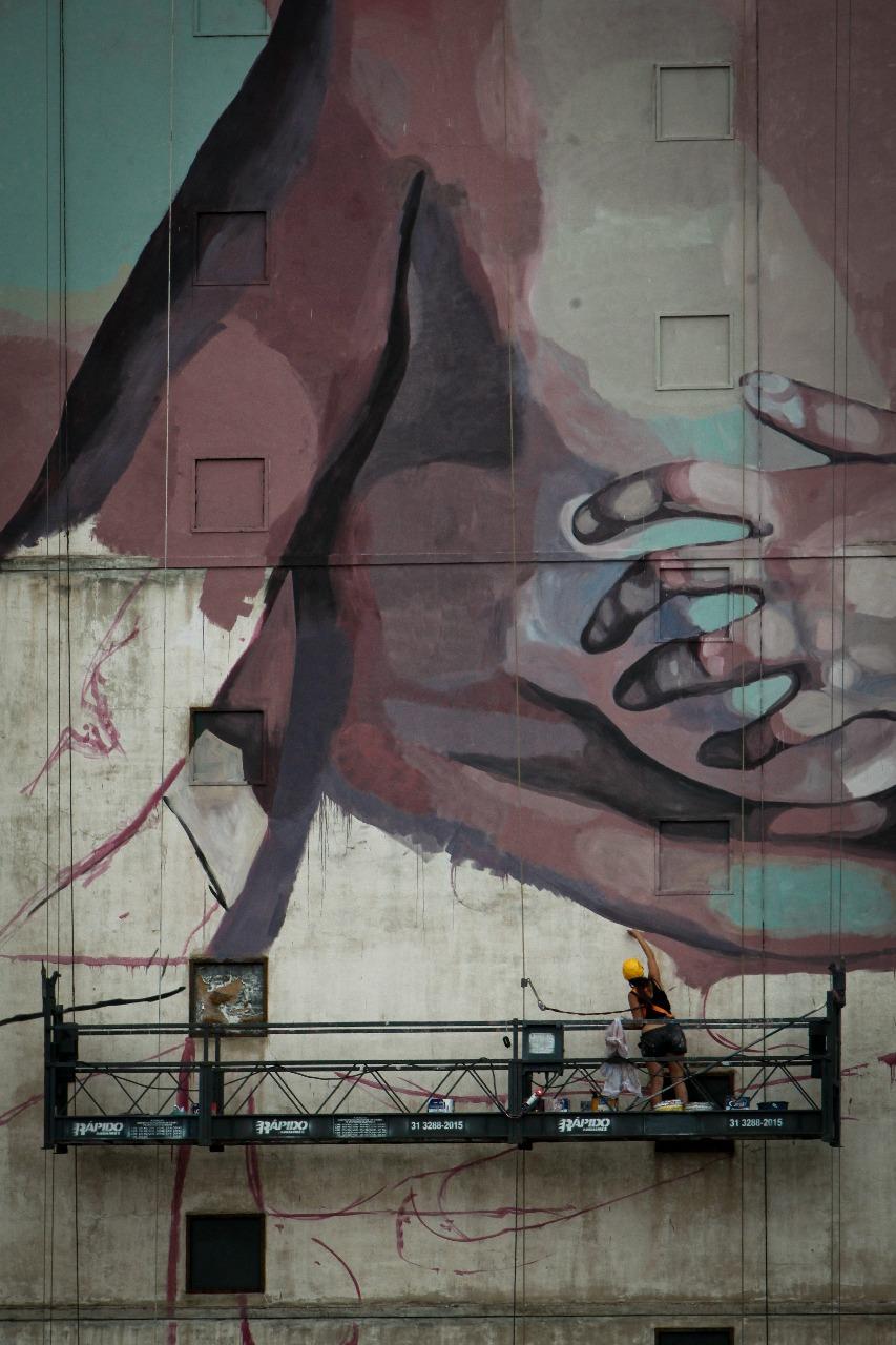 Milu Correch Street Art Belo Horizonte Cura Festival