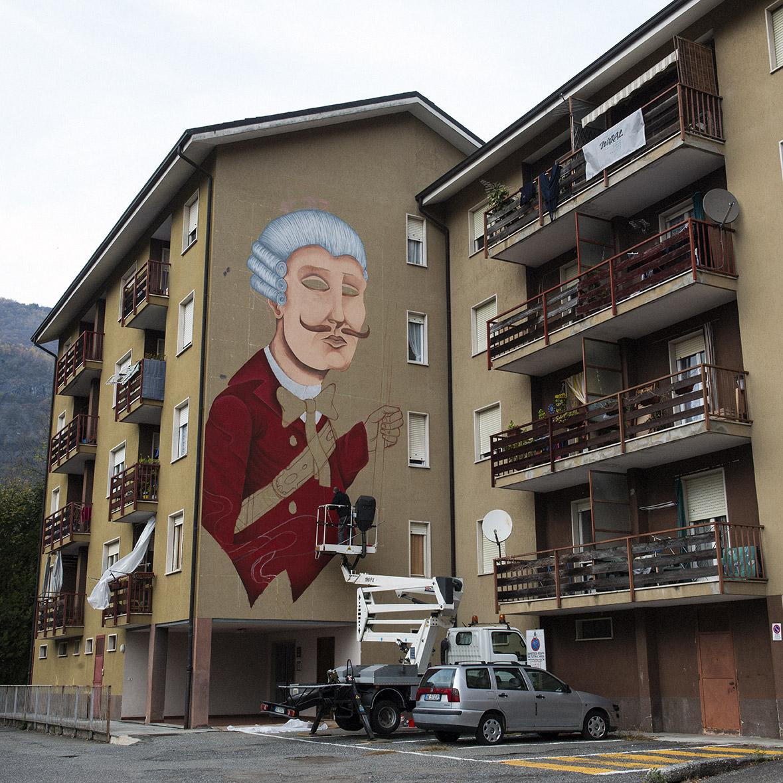 SeaCreative Street Art Varallo Waral Urban Art Project