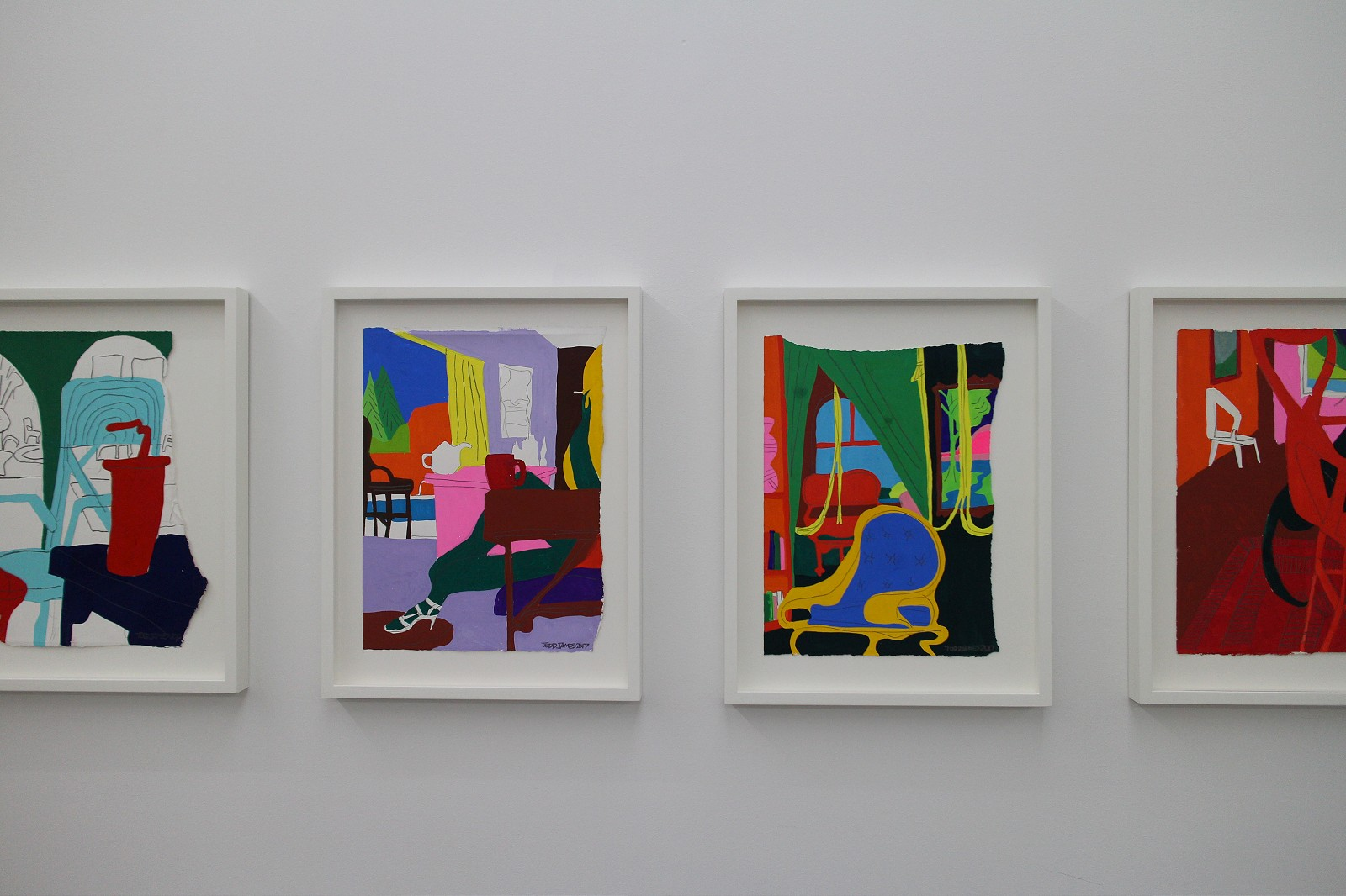 Todd REAS James Interior Eighteen Gallery