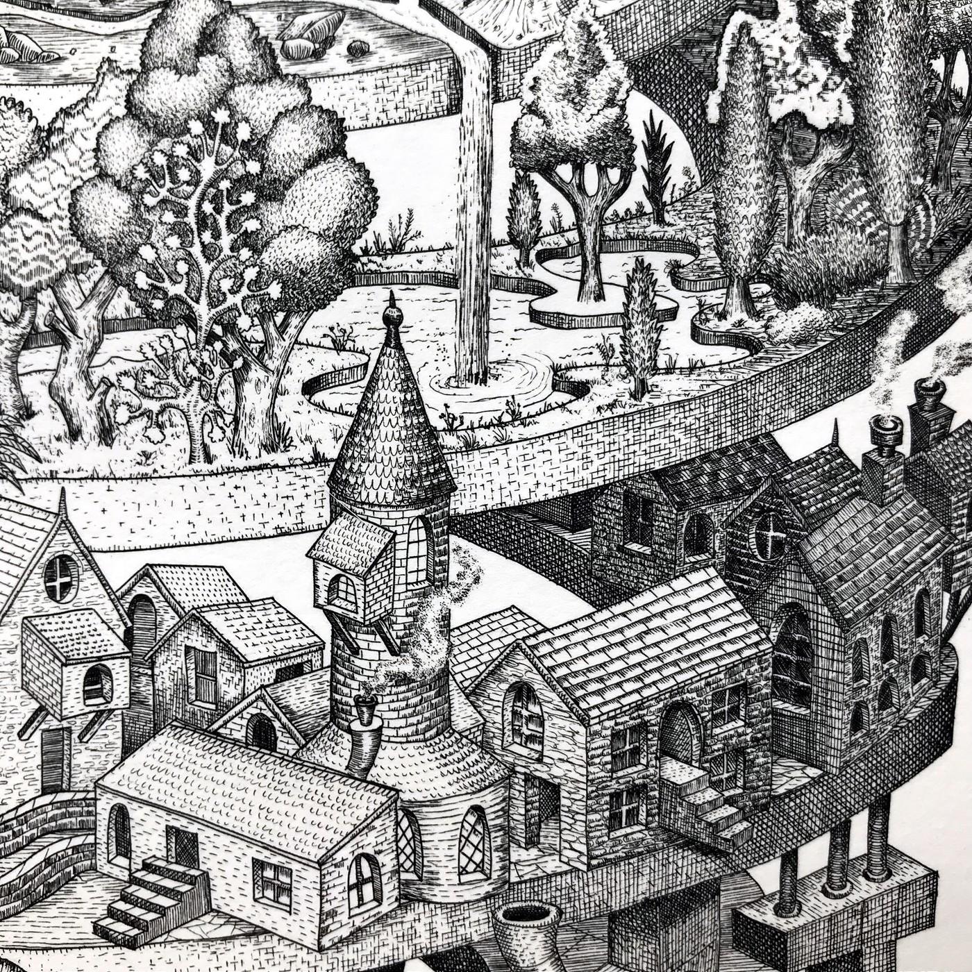 Phlegm etchings