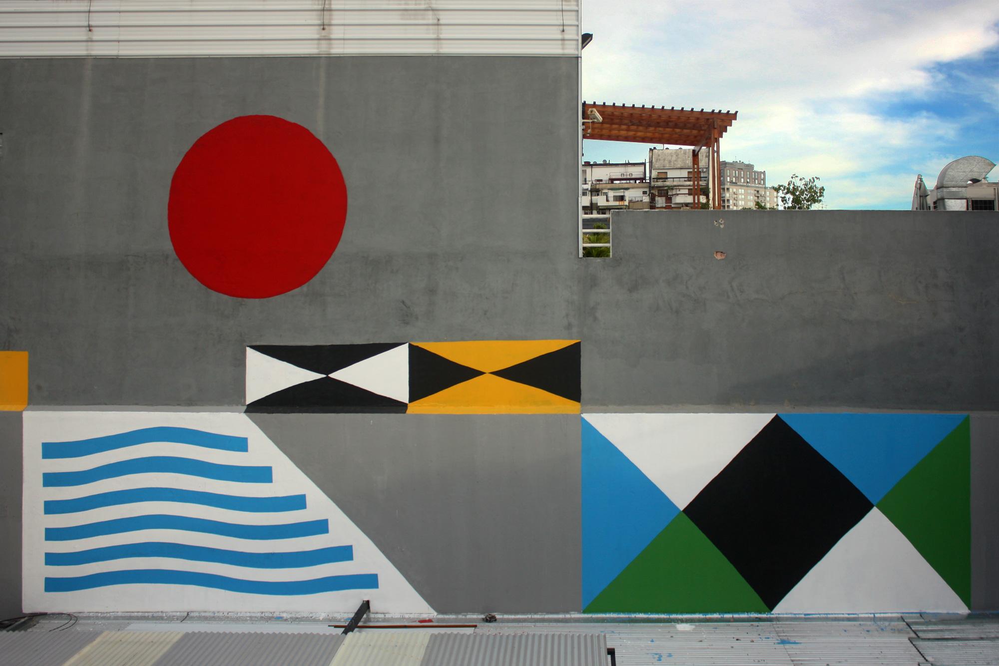 Jorge Pomar Alberonero, Tybet Antonin Hako Street Art Buenos Aires