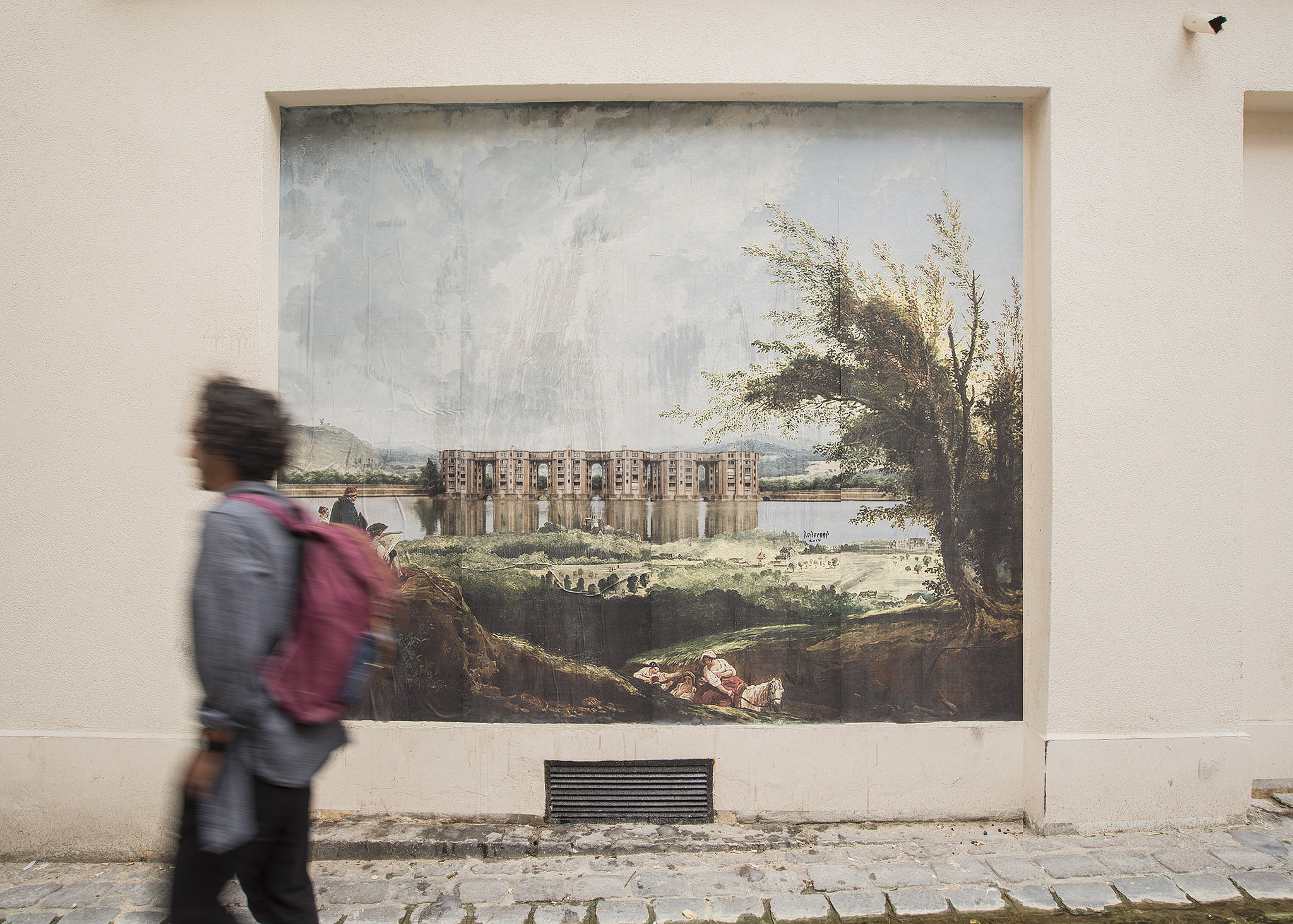 RO.BO.COOP. Street Art Poster Art Paris