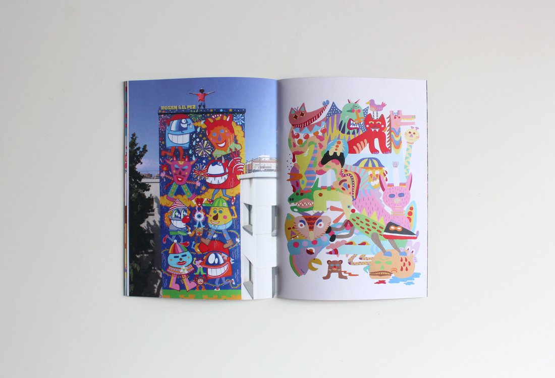 Zosen Fanzine Carnaval toda la vida Stickit