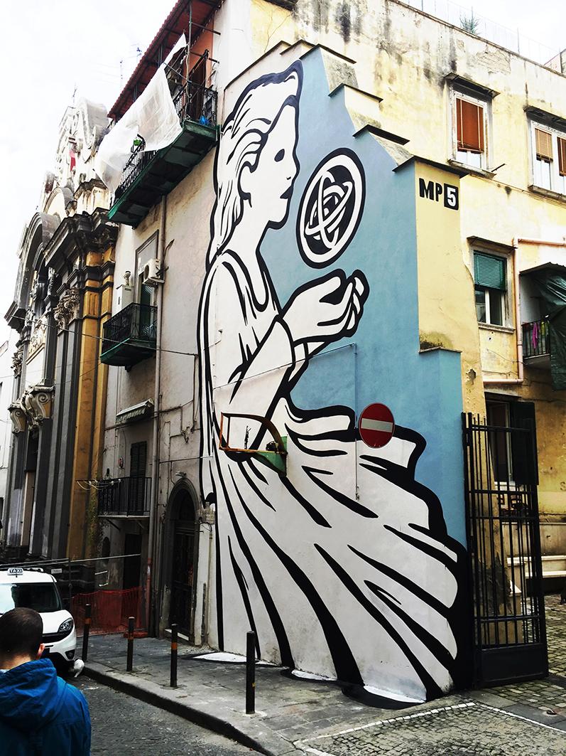 Mp5 Quartieri Spagnoli Napoli