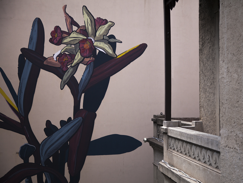 Pastel Street Art Villa Ballester, Buenos Aires