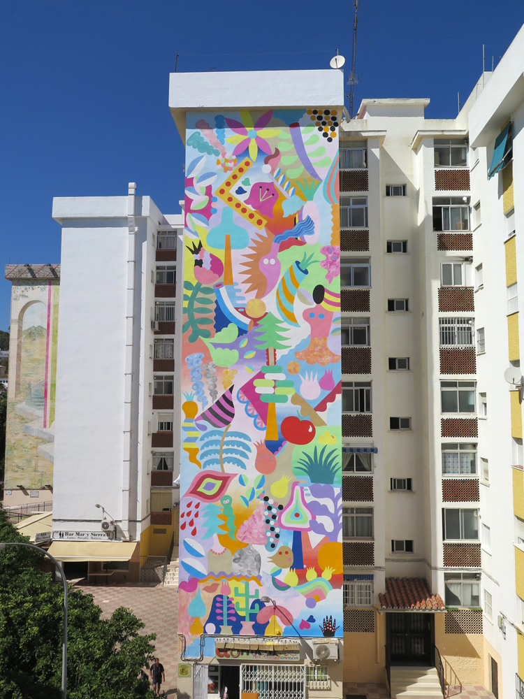 Zosen Mina Hamada Street Art Estepona