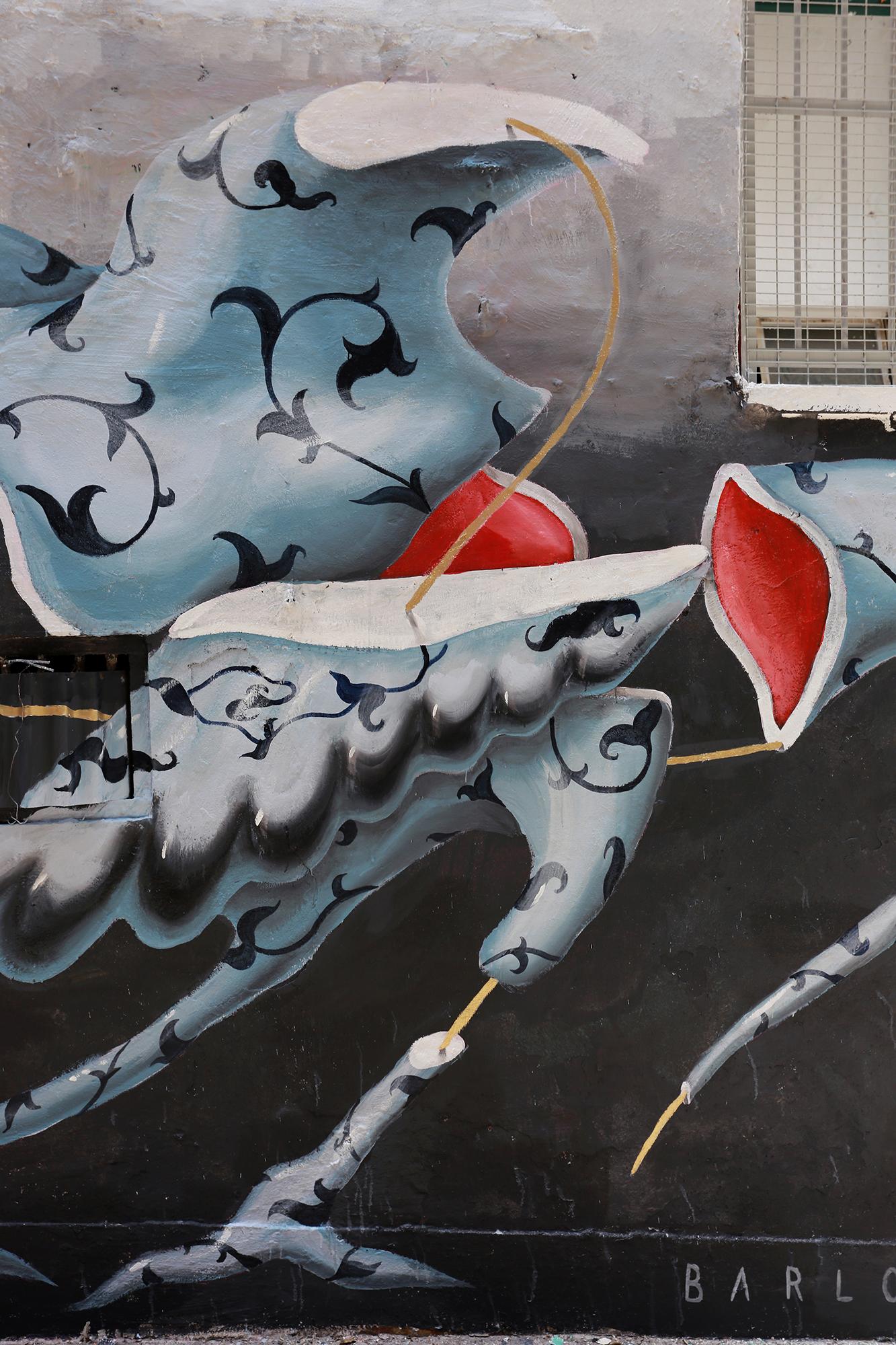 Barlo HkWalls street art Hong Kong