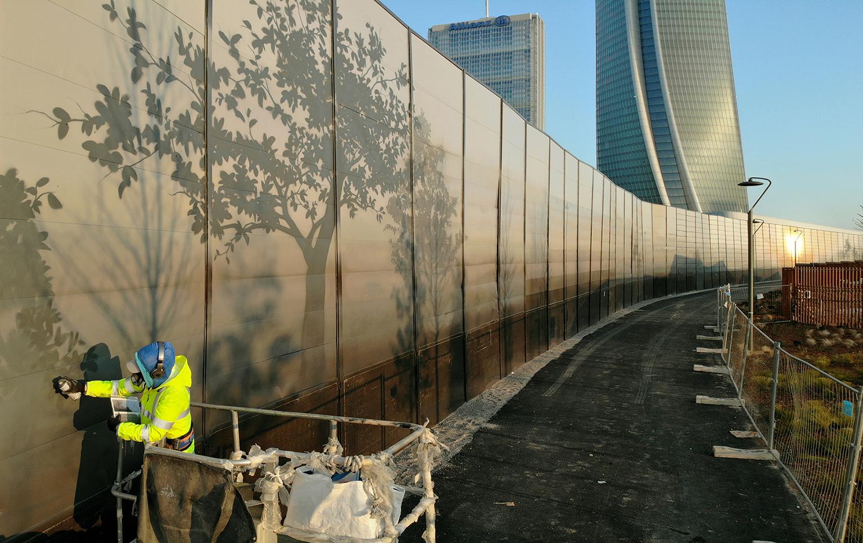 Eron Milano CityLife Street Art Murales