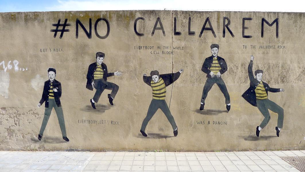 Escif No Callarem Valencia