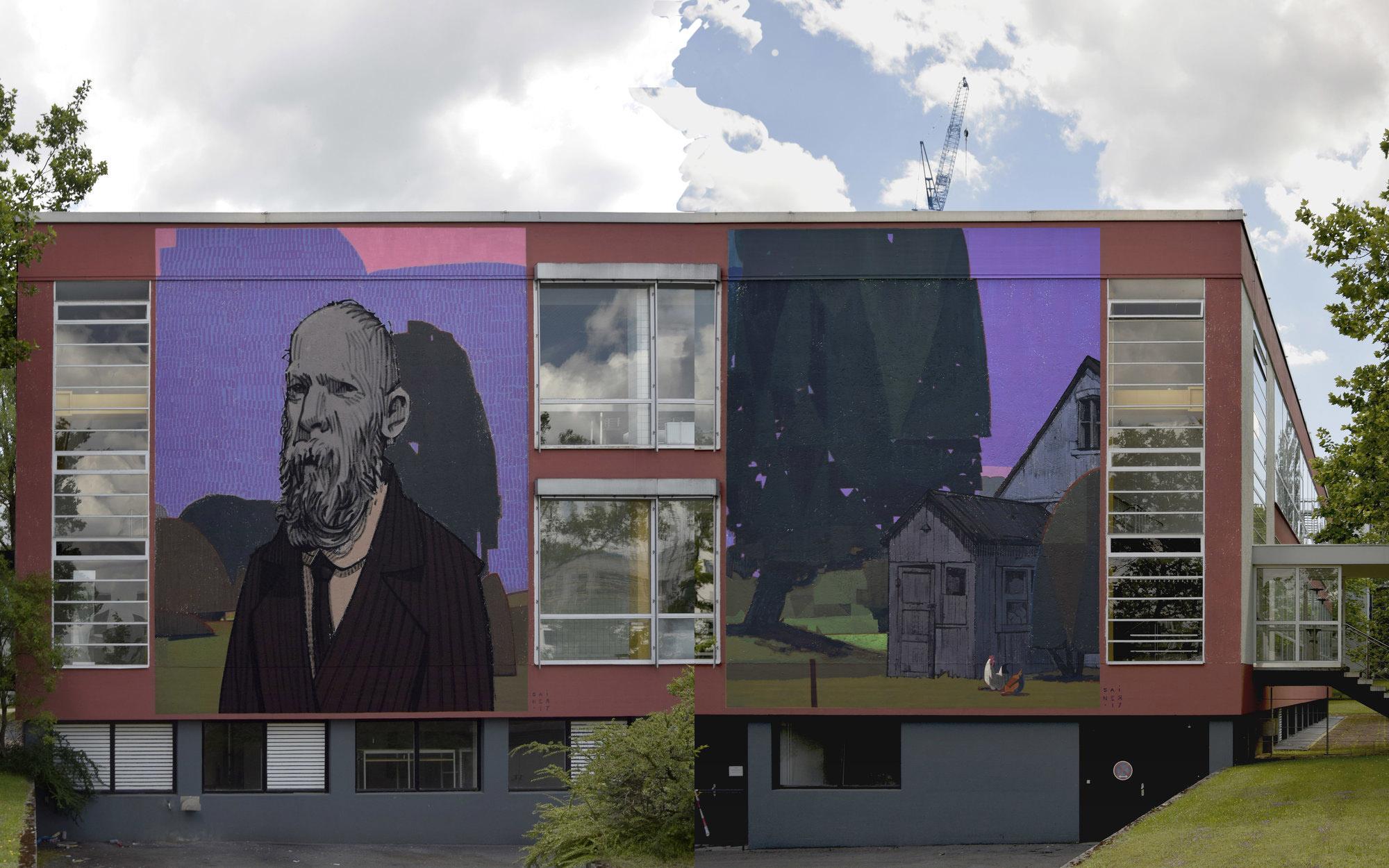 Sainer Etam Cru Street Art Munich Scale Munich
