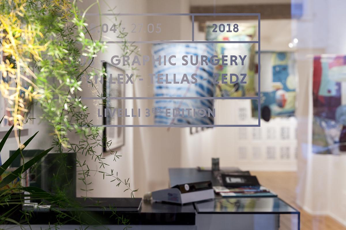 108, Graphic Surgery, Sten & Lex, Tellas e Zedz Livelli Galleria Varsi Roma