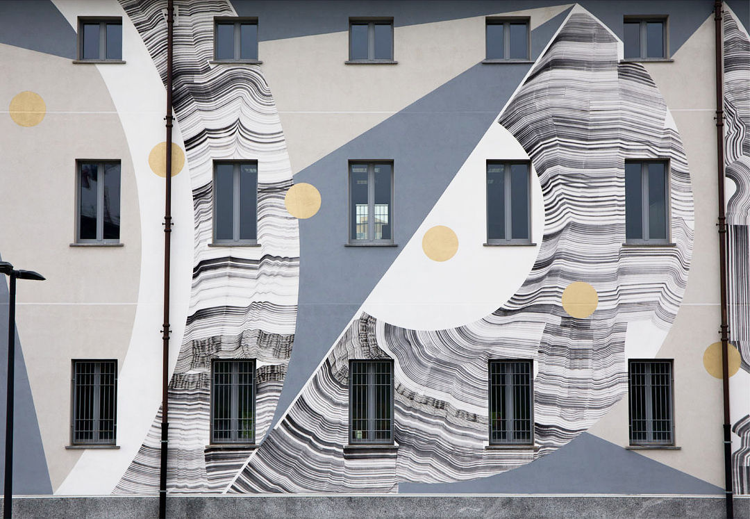 501 mural Cascina Merlata, Milano