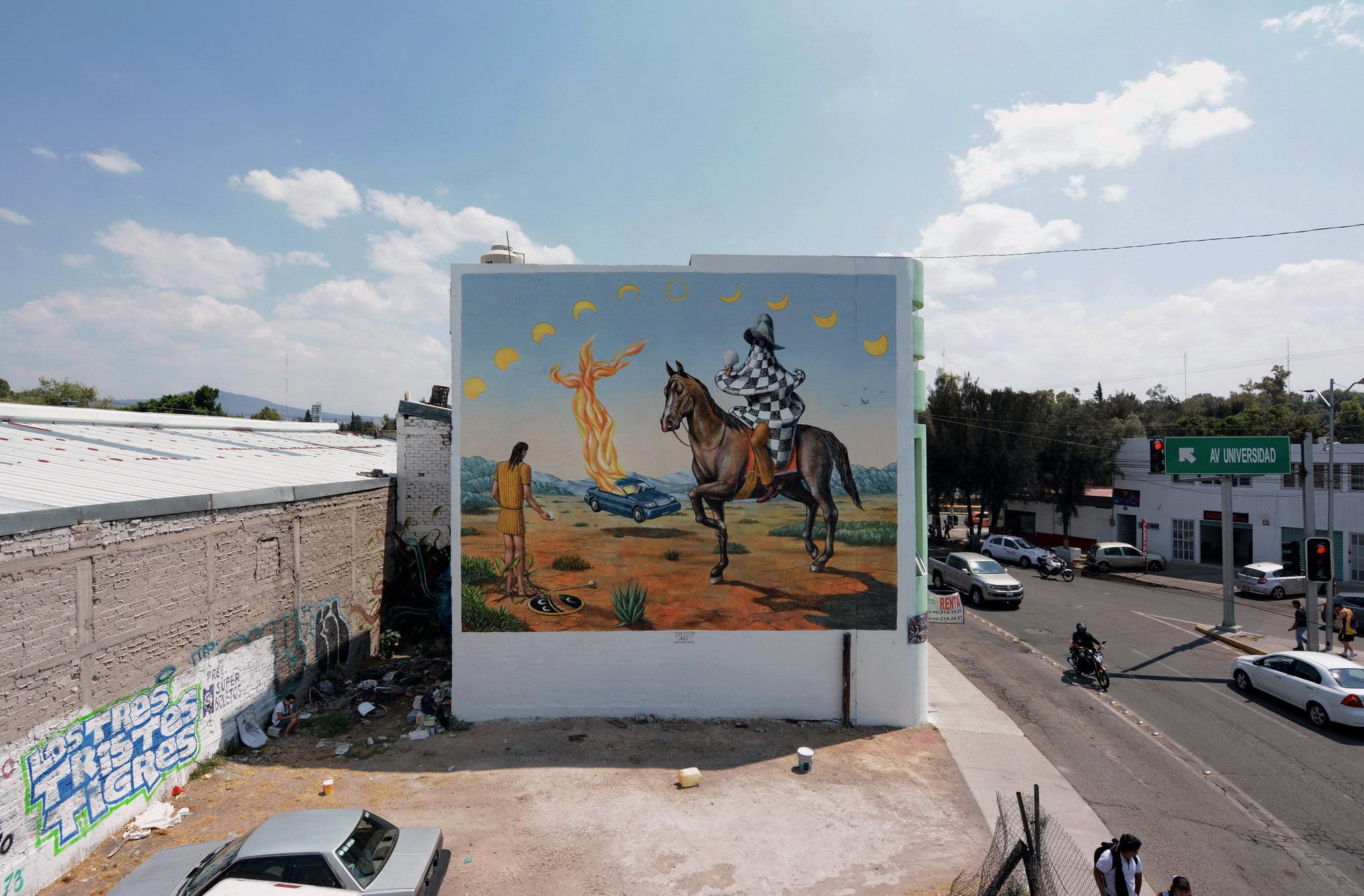 AEC Interesni Kazki Querétaro Messico Macromurales project