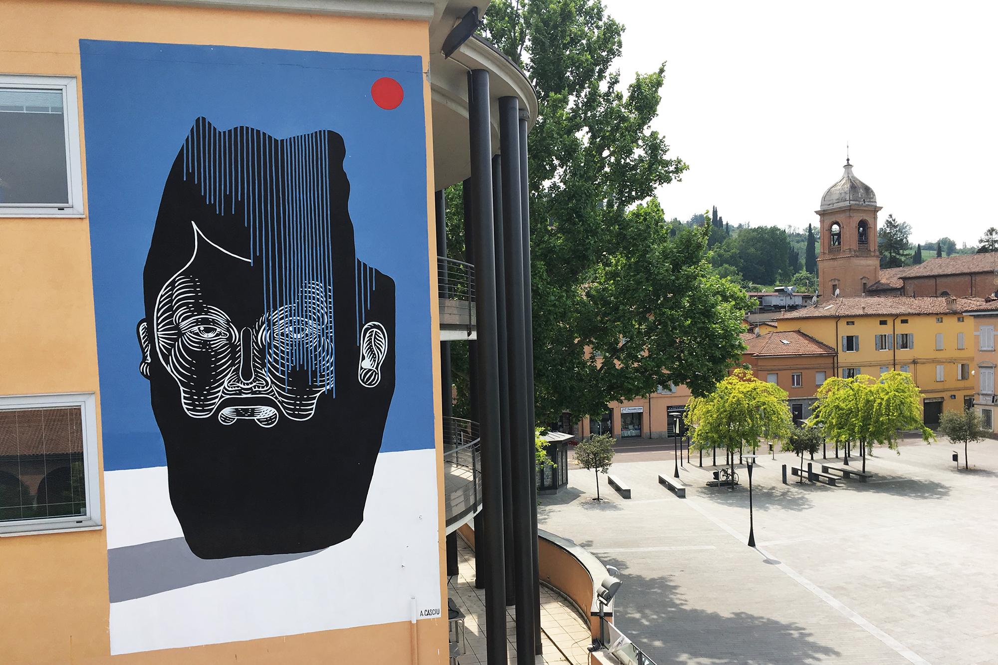 Andrea Casciu Fiorano Modenese Street Art